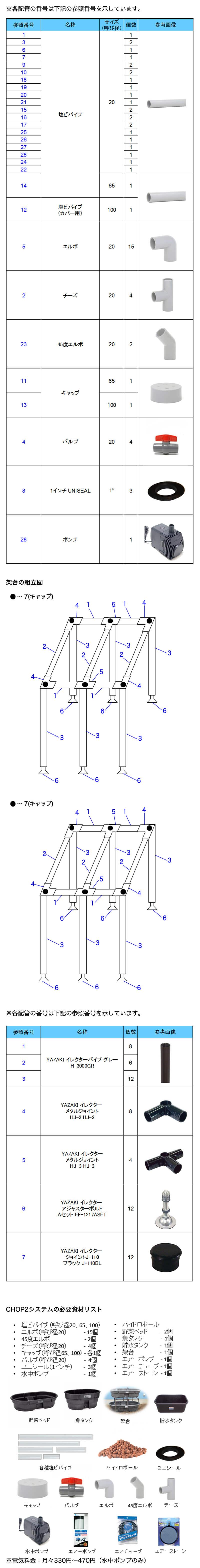 CHOP2配管図