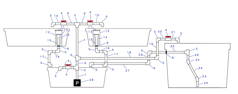 CHOP2配管図モノクロ