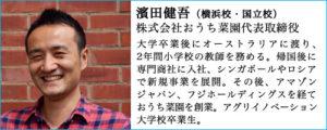 AQUAPONICS ACADEMY講師紹介|濱田健吾